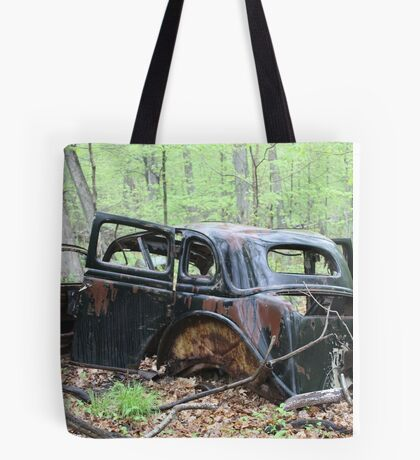 January Motor Car Tote Bag