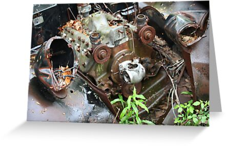 February Old Car by Thomas Murphy