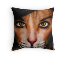 Catwoman2 Throw Pillow