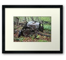 March Old Motor Car Framed Print