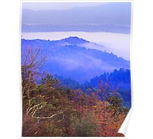 VIEW, BLUE RIDGE PARKWAY Poster