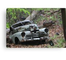 May Old Motor Car Canvas Print
