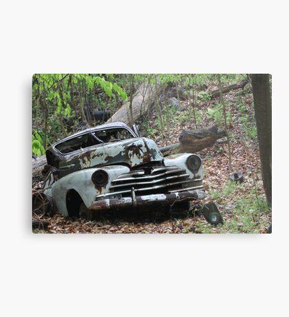 May Old Motor Car Metal Print