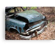 June Old Motor Car Metal Print