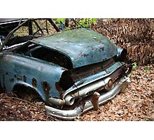 June Old Motor Car Photographic Print