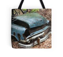 June Old Motor Car Tote Bag