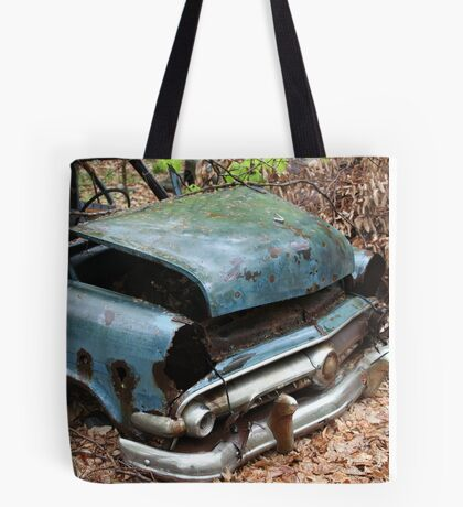 June Old Motor Car Tote Bag