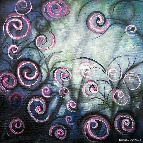 The Swirl garden by Sherry Arthur