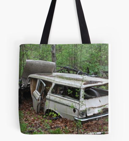 July Old Motor Car Tote Bag