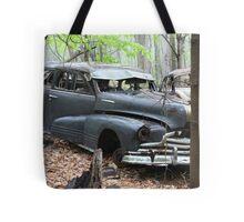 August Old Motor Car Tote Bag
