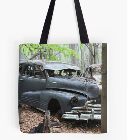 August Old Motor Car Tote Bag