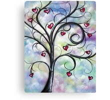 Leaves Of Love Canvas Print