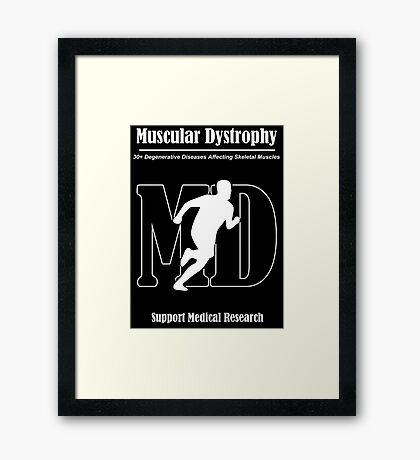 Muscular Dystrophy Awareness Framed Print