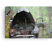 November Old Motor Car Metal Print