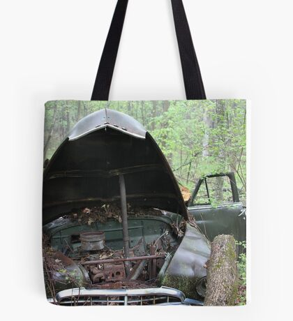 November Old Motor Car Tote Bag