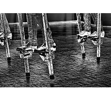 Dancing On Stilts Photographic Print