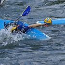 Kayak polo by Frederic Chastagnol