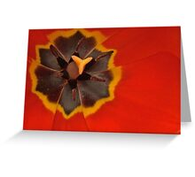The Flag of Tulipville Greeting Card