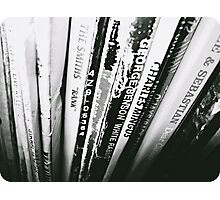 """""""Hang the blessed DJ"""" - Vinyl Record collection in ottawa Photographic Print"""