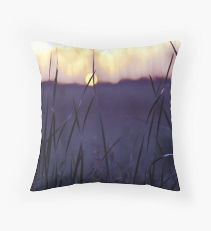 velvet sunset Throw Pillow