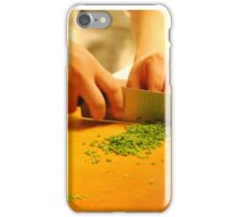Knife Skills FOODIE If you like, please purchase, try a cell phone cover thanks iPhone Case/Skin