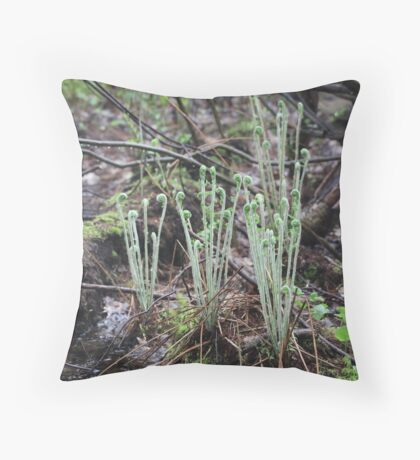 The Pod People Throw Pillow