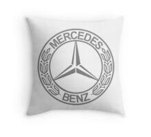 Mercedes Benz Throw Pillow