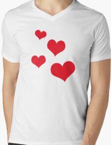 Beautiful hearts Mens V-Neck T-Shirt