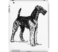 Airedale Terrier Drawing iPad Case/Skin