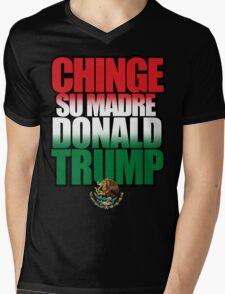 CHINGE SU MADRE DONALD TRUMP Mens V-Neck T-Shirt