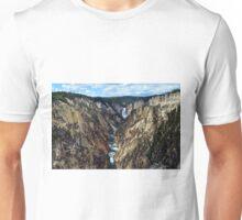 Lower Yellowstone Falls Unisex T-Shirt