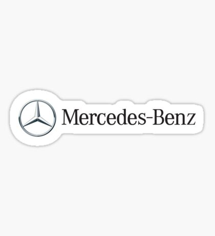 Mercedes Benz Sticker