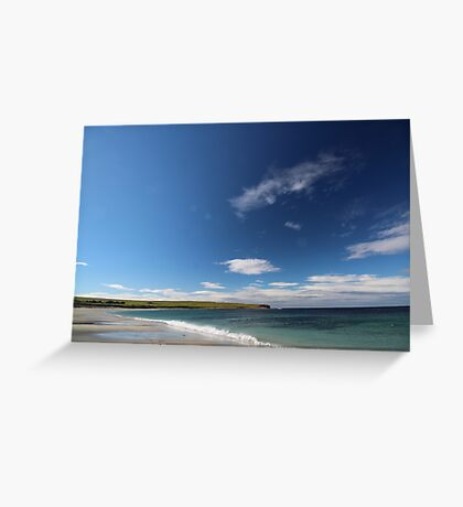 Bay of Skaill, Orkney Greeting Card