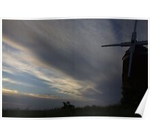 stormy sky at tyso Poster