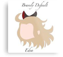 Bravely Default Edea Metal Print