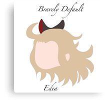 Bravely Default Edea Canvas Print