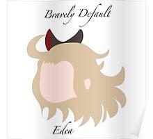 Bravely Default Edea Poster