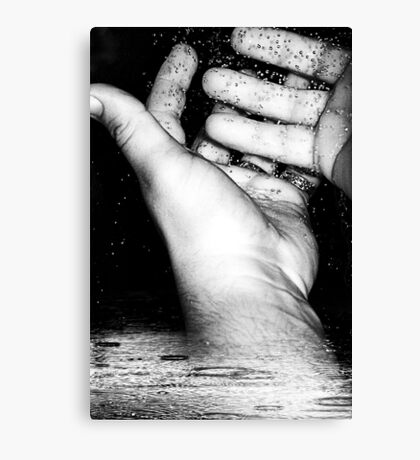 Praying For Some Holy Water To Wash These Sins From Off Our Hands Canvas Print