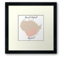 Bravely Default Ringabel Framed Print