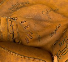 flea market catcher's mitt by David Chesluk