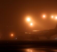 Airport Fog by Jeff Stanford