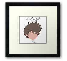 Bravely Default Tiz Framed Print