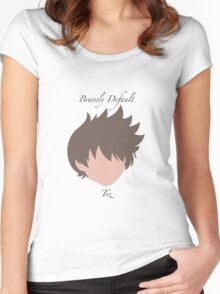 Bravely Default Tiz Women's Fitted Scoop T-Shirt