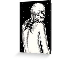 Dust to dust Greeting Card