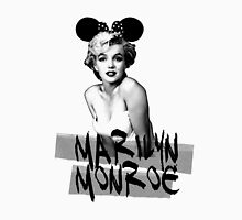 marilyn monroe minnie Womens Fitted T-Shirt