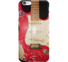 Red Guitar iPhone Case/Skin