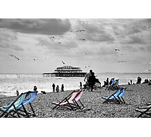 Brighton Seaside Photographic Print