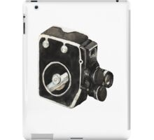 Vintage video camera iPad Case/Skin