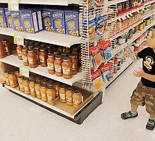 Derek in the Supermarket by Patsy Castle