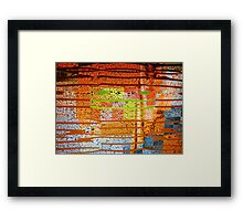 Streams of Thoughts Framed Print